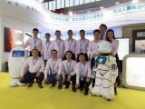 聚焦|旺龙亮相北京安防展,机器人乘梯成最大亮点