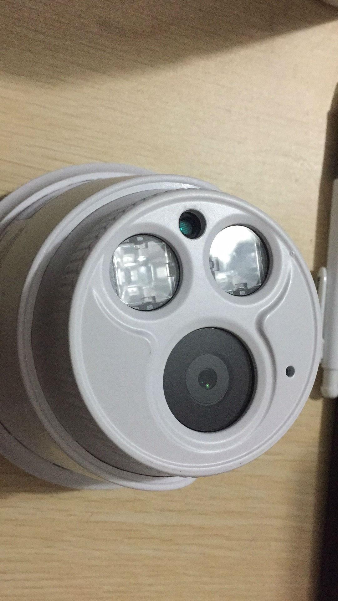 观察哨 黑光全彩半球 H.265+ 200万高清红外摄像机
