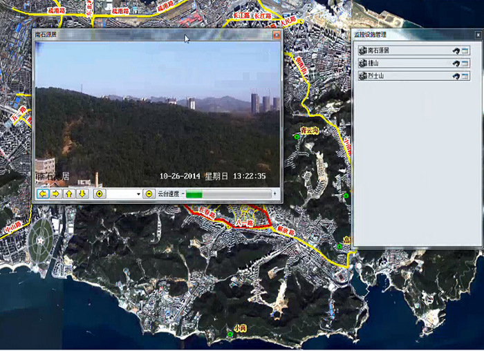 GIS地理信息软件系统-森林火灾救火指挥系统