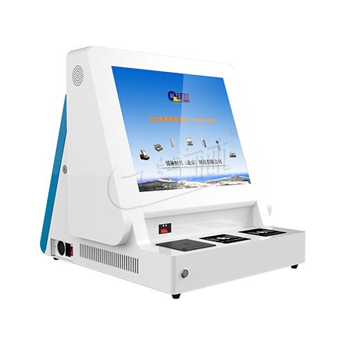 钱林厂家销售价格优惠证件验证登记机 门卫验证访客机 证件扫描机