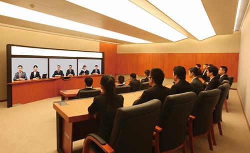科达网呈搭建高端智能会议室