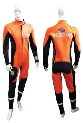 消防水域防护服湿式救援服连体防寒防护服产假