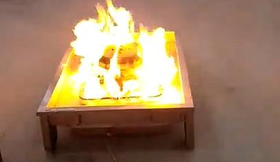 青岛凌鼎移动真火燃烧盘训练装置