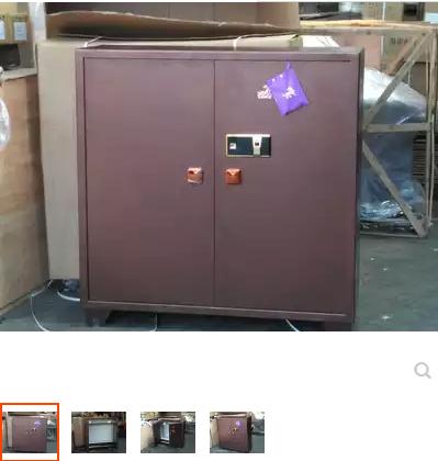 虎牌保险柜120cm家用办公珠宝收藏密码保险箱大型双门保管箱