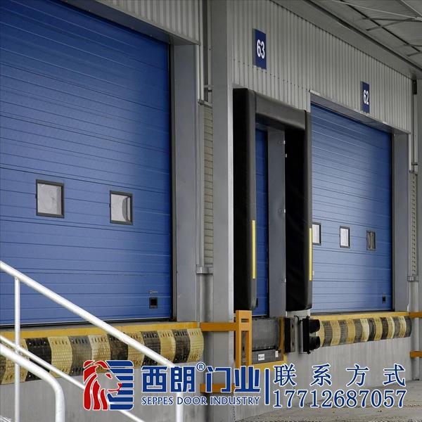 无锡机械厂房电动提升门
