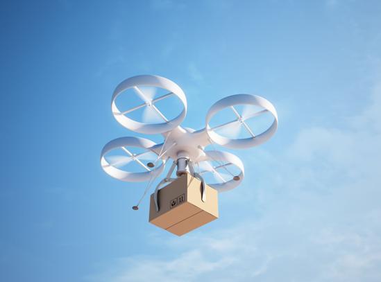 无人机配送兴起 物流产业AI全景图雏形初现