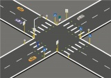 智慧交通玩新花样 国内五类智能斑马线
