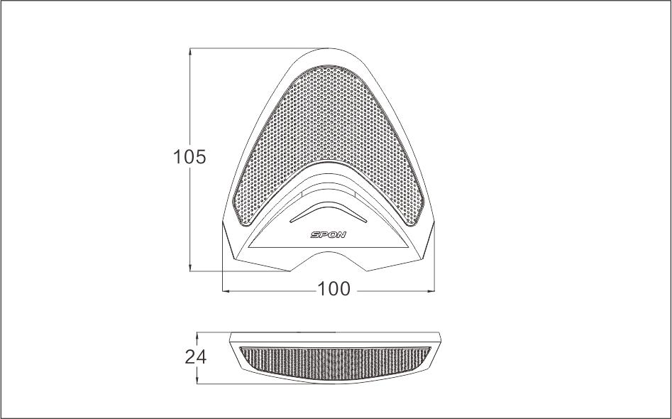 拾音器排行世邦拾音器TS-810A型高清晰拾音器主要应用于金融、司法、公安、政务、教育等部门