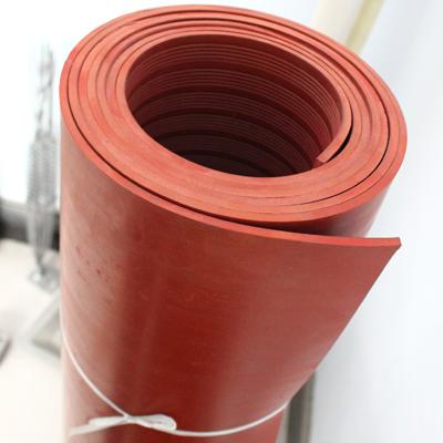 广东红色绝缘橡胶垫价格 绝缘胶皮厂商