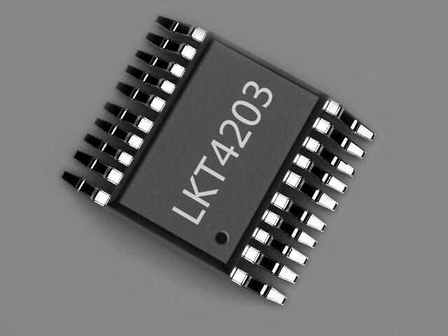 LKT4203 32位高性能RSA防盗版加密芯片