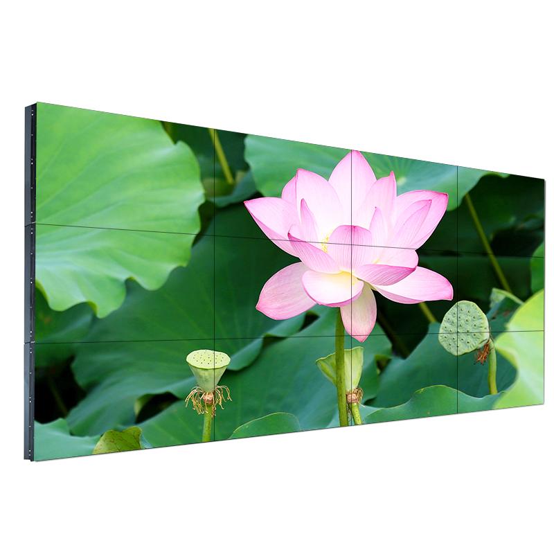 厂家批发 46寸拼接屏广告机窄边框高清LCD液晶显示屏监控显示器