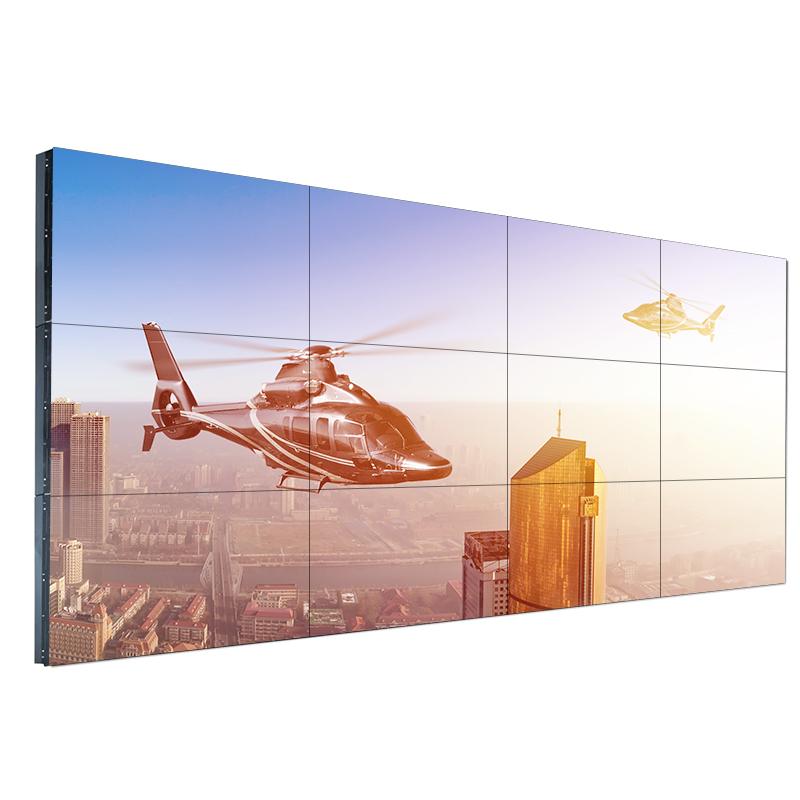 LG49寸液晶拼接屏窄边3.5mm拼缝会议监控拼接电视墙深圳厂家直销