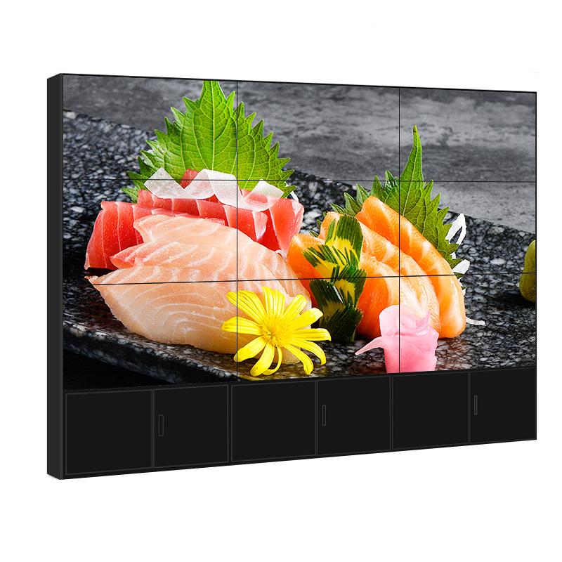 三星液晶拼接屏40 43 46 50 55寸超窄边监视器电视墙监控显示大屏