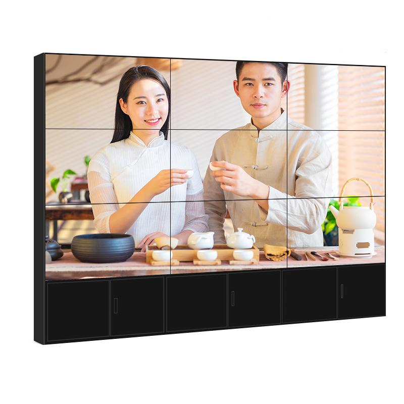 46寸55寸液晶拼接屏 高清高亮超窄边拼接屏 安防监控拼接显示屏