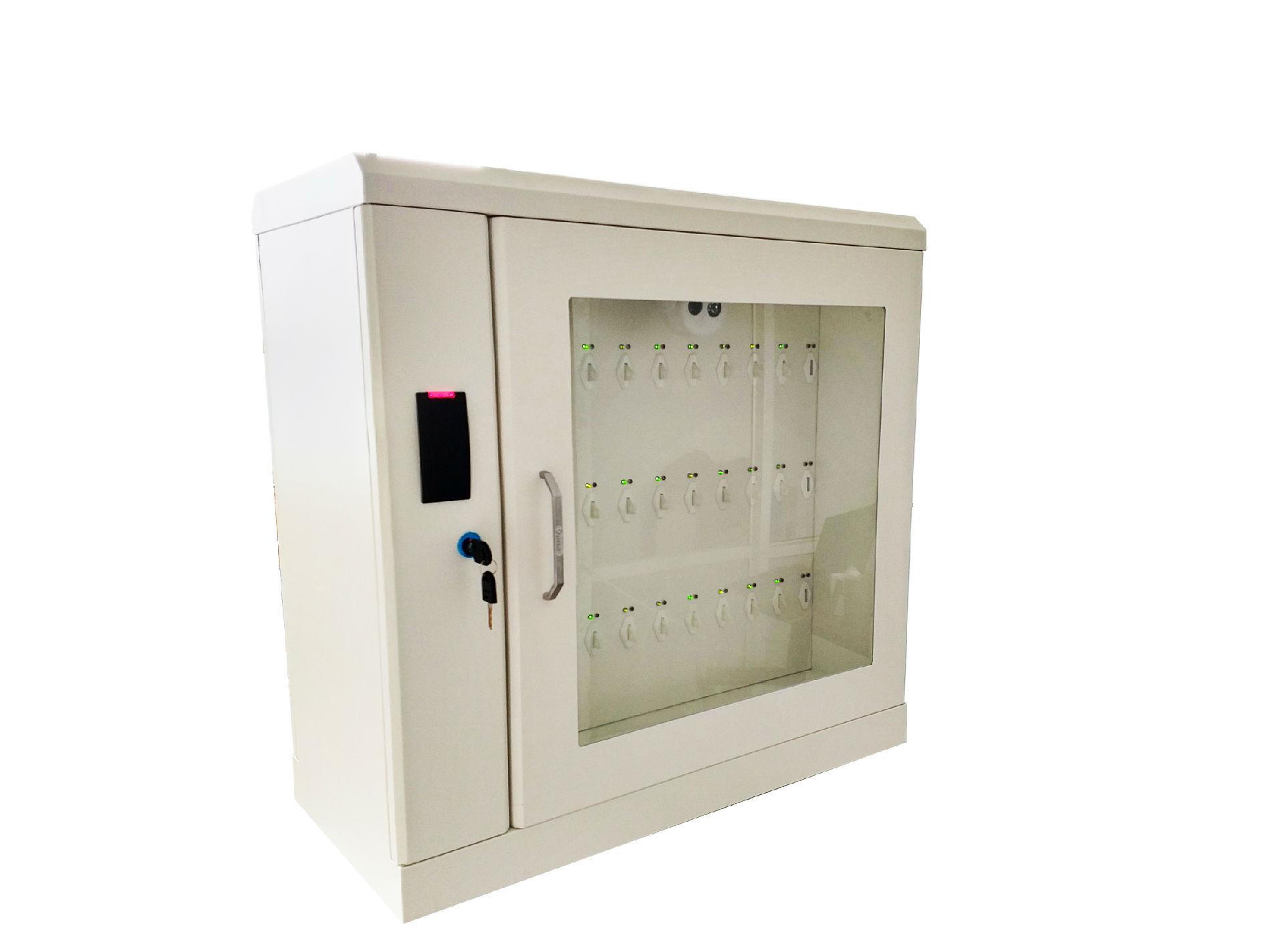 埃克萨斯指纹刷卡智能钥匙柜E-key5mini写字楼物业钥匙柜