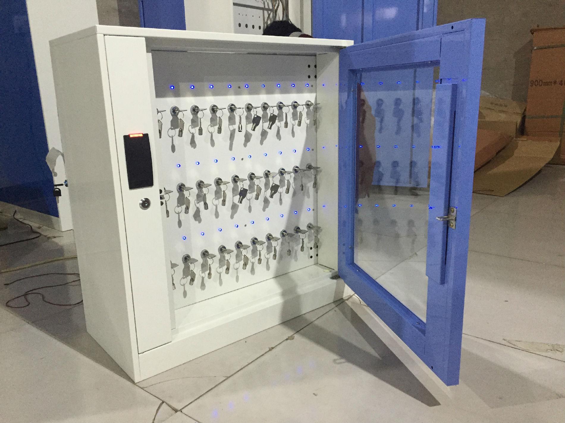 埃克萨斯智能钥匙柜E-key4mini物业钥匙柜指纹密码钥匙箱厂家直销