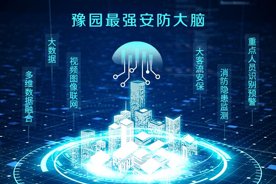 """东方网力助力""""平安豫园""""智慧商圈安防平台建设"""