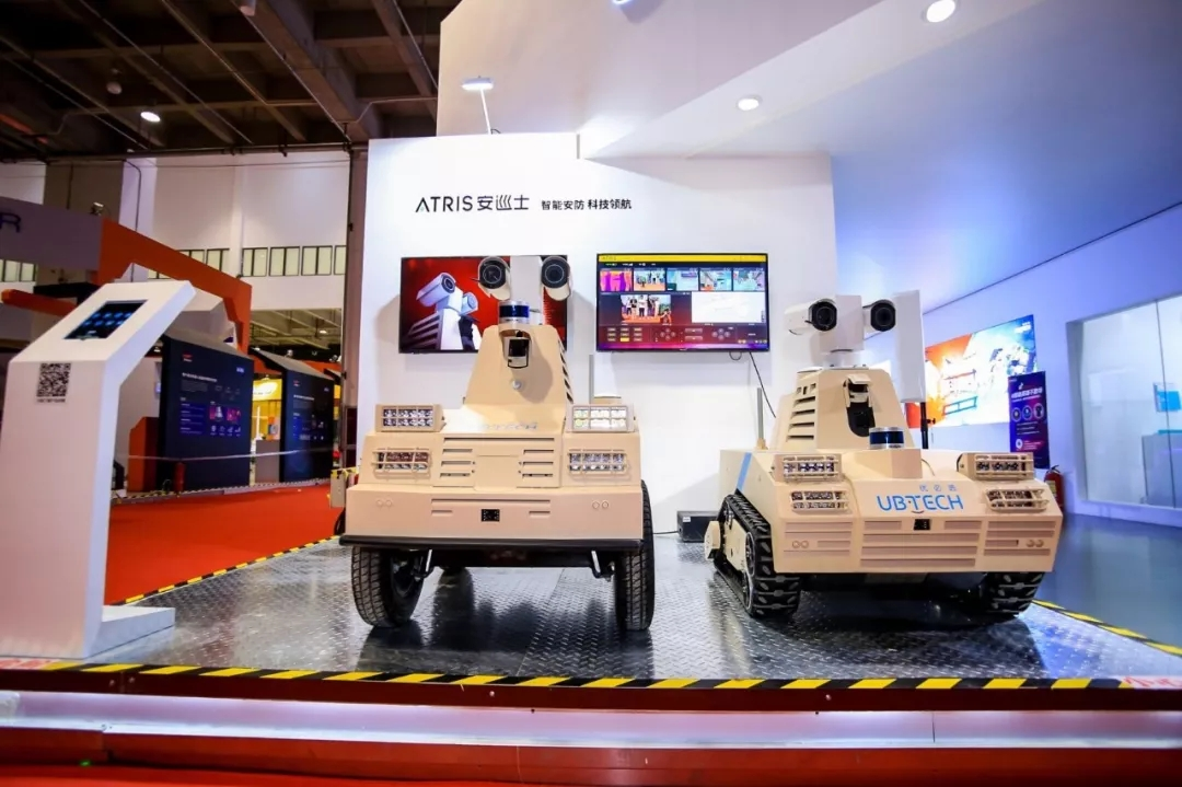 AI安防,优必选巡检机器人拓宽智能+边界