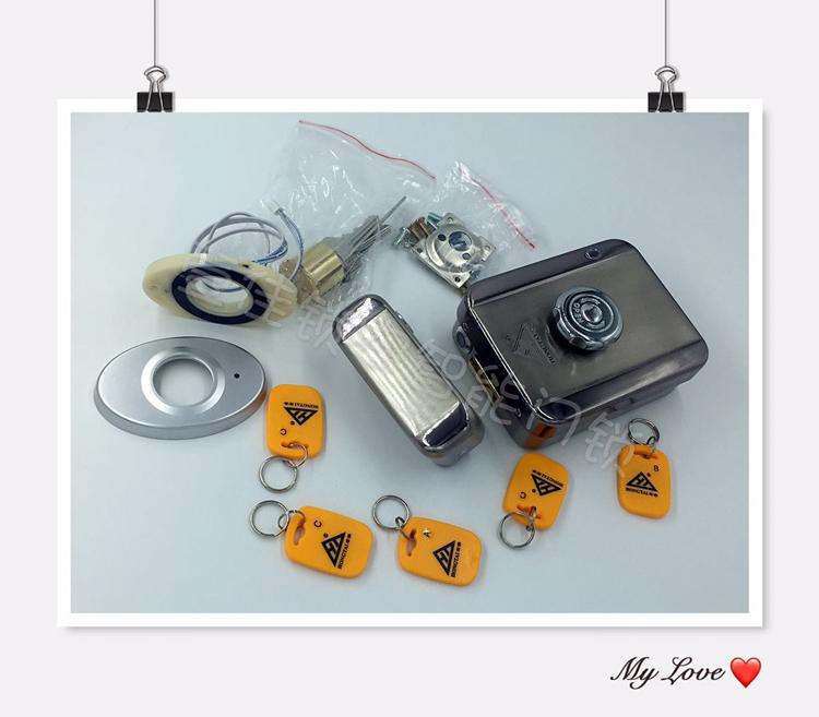 宏泰刷卡灵性锁DJ02KA 灵性锁 出租屋灵性锁 出租屋刷卡一体锁