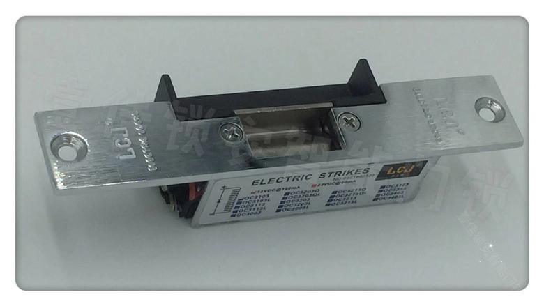 LCJ/力士坚电子门锁OC3103 力士达电锁 门禁电锁口木门门禁锁