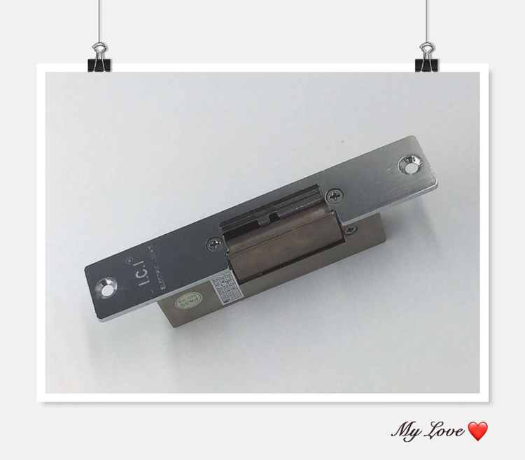 LCJ电锁口OC3203K 阴极锁 门禁电锁口 力士坚宽口电锁 门禁电子锁