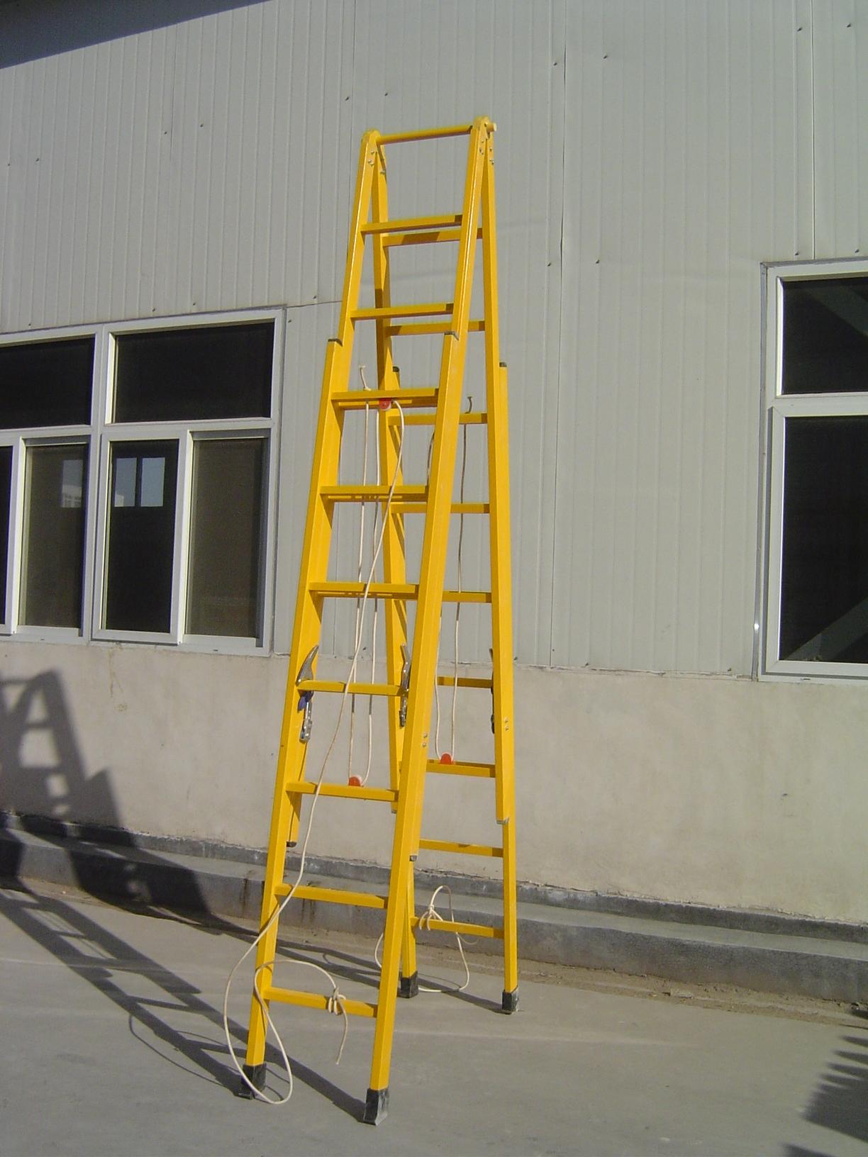 广东供应玻璃钢电工绝缘梯子 4米绝缘单梯厂家