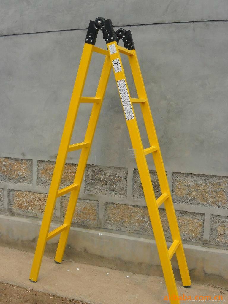厦门批发折叠式绝缘梯 3米玻璃钢绝缘梯可定制
