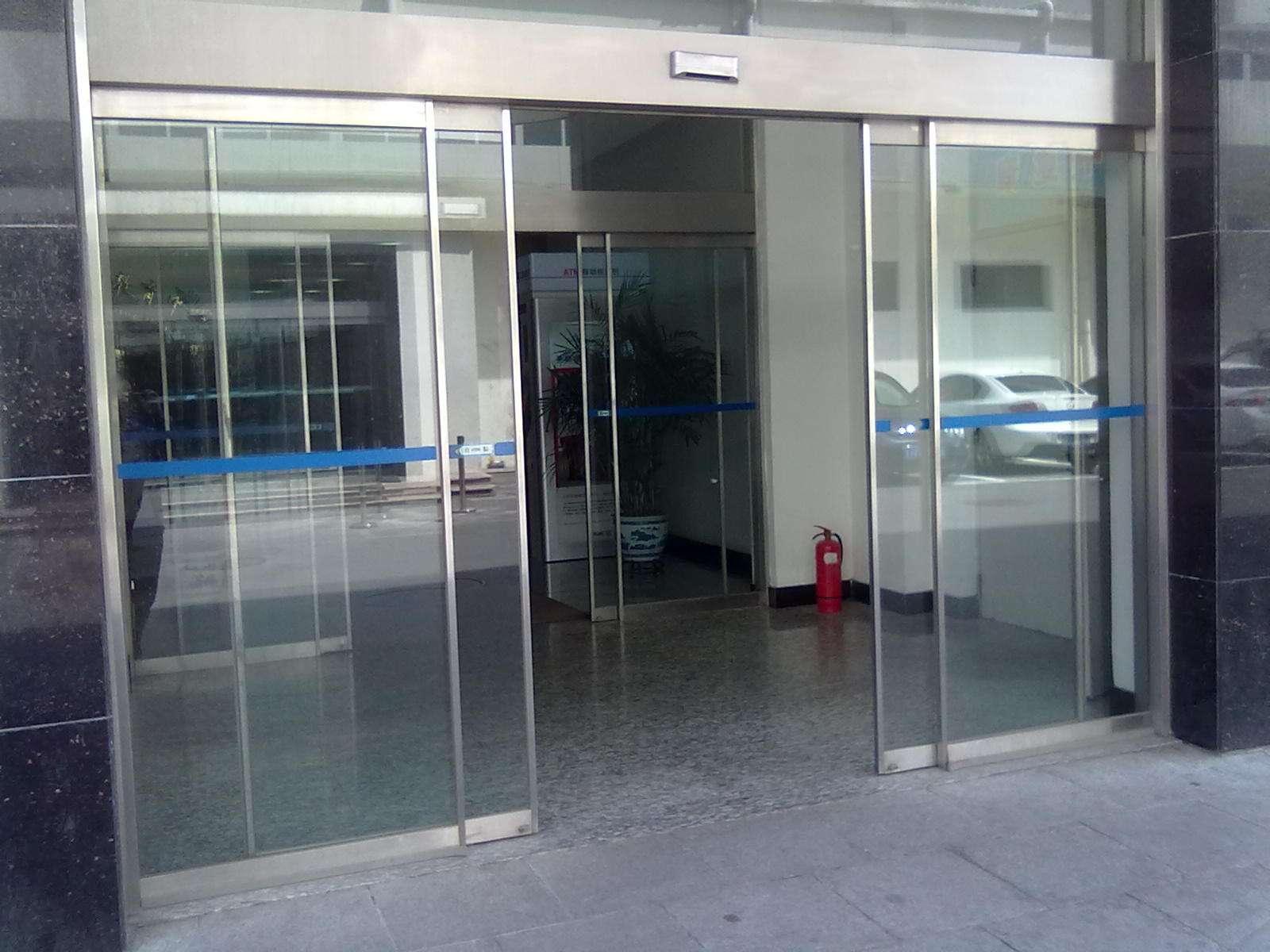 电动感应玻璃门维修服务商广州中控