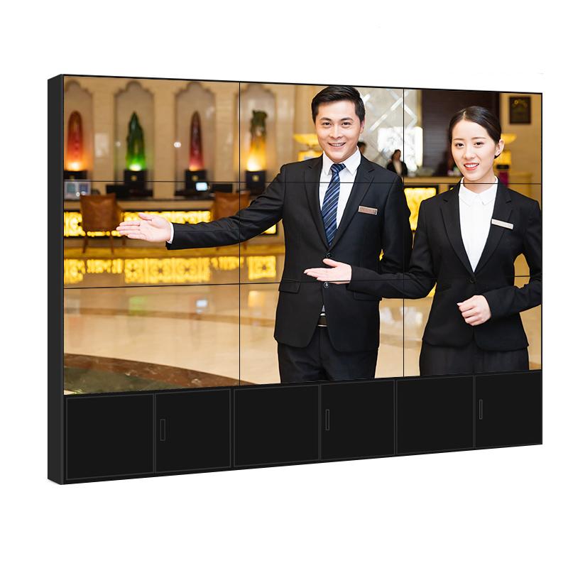 4k50寸65寸液晶拼接屏高清展示监控多屏大屏幕显示器拼接单元