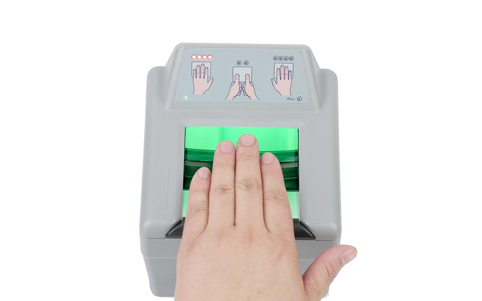 四连指活体指纹采集仪