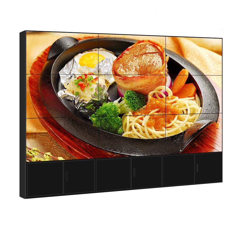 三星46寸50液晶拼接屏裸屏大屏幕超窄边LED高清监控LG55寸电视墙