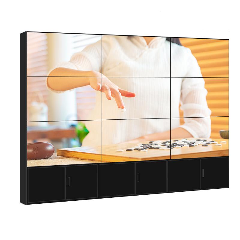 华邦瀛46寸3.5mm拼缝拼接屏液晶监视器高清监控显示器工业屏电视墙