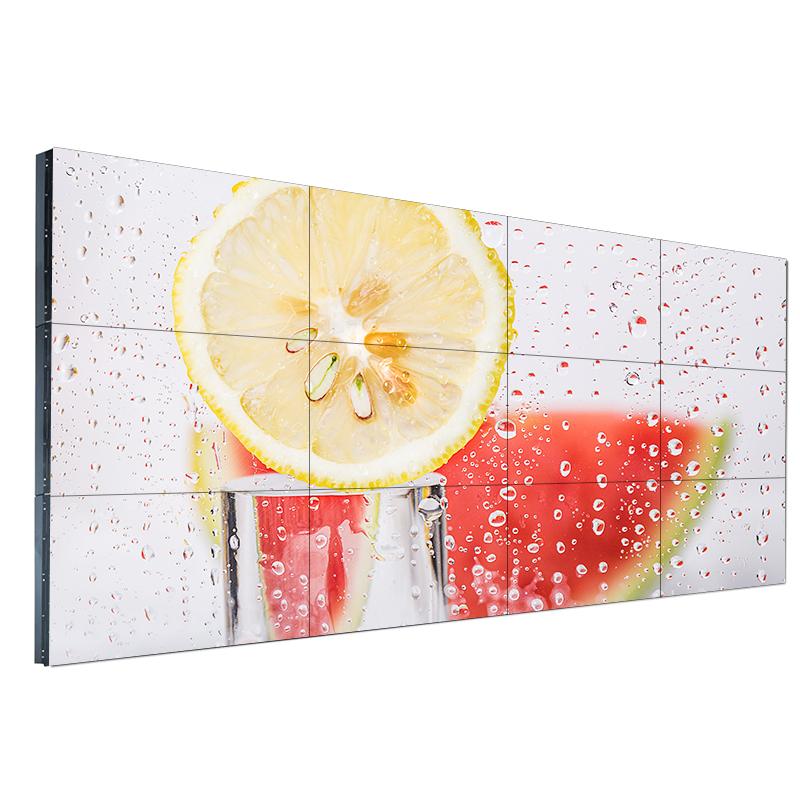 46寸3.5mm高清液晶拼接屏会议室大屏幕led广告电视墙监控显示屏