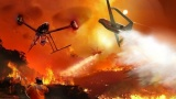 地球之肺森林火灾人工智能(AI)无人机来解决