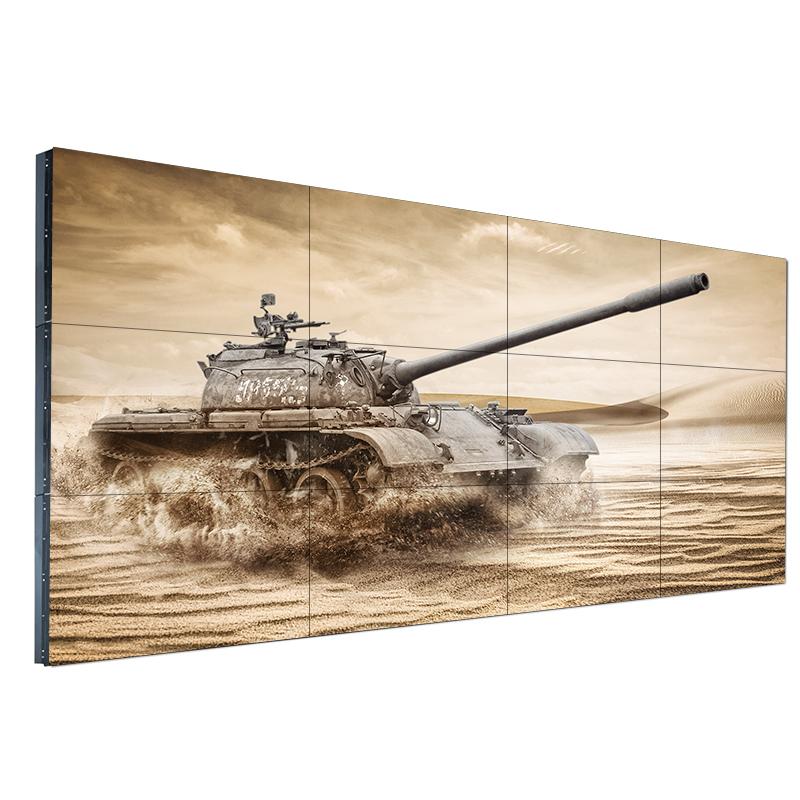 三星49寸8mm液晶拼接屏 电视墙监控显示器 46寸超窄边无缝大屏幕