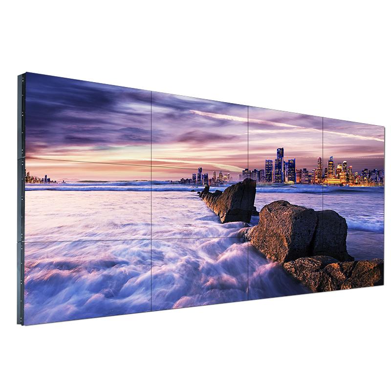 华邦瀛LG49寸DID拼接屏 无缝拼接显示器 商场展示电视墙超窄边