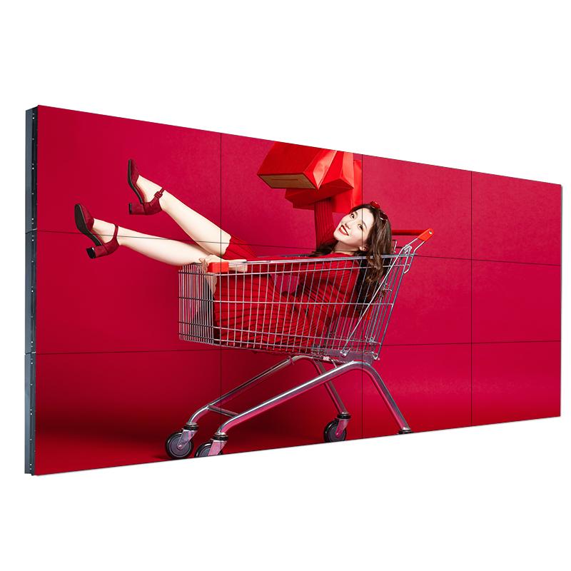 华邦瀛超窄边三星49英寸液晶拼接屏电视墙监控显示器led4K大屏幕