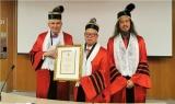 杨金才会长被法国欧洲科学院授予荣誉院士
