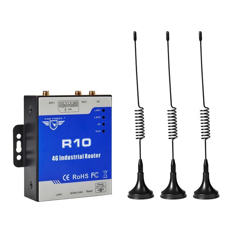 4G无线工业路由器 金鸽移动联通电信全网通插卡WIFI路由器