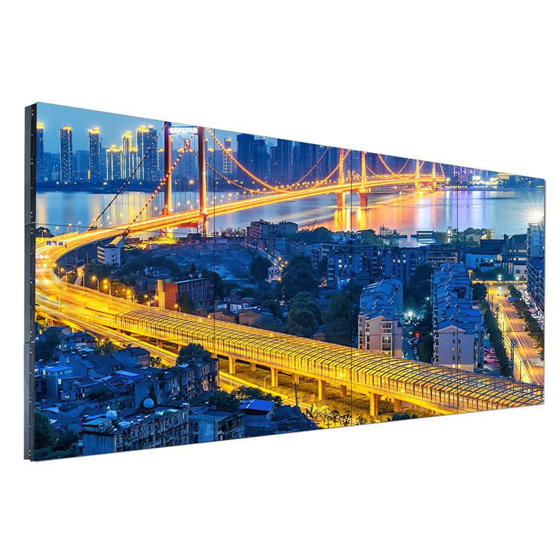 LG49/55寸液晶拼接屏3.5mm窄边监控显示墙