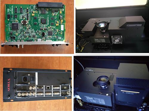 大屏幕光机引擎维修DLP投影机芯维修引擎主板电源