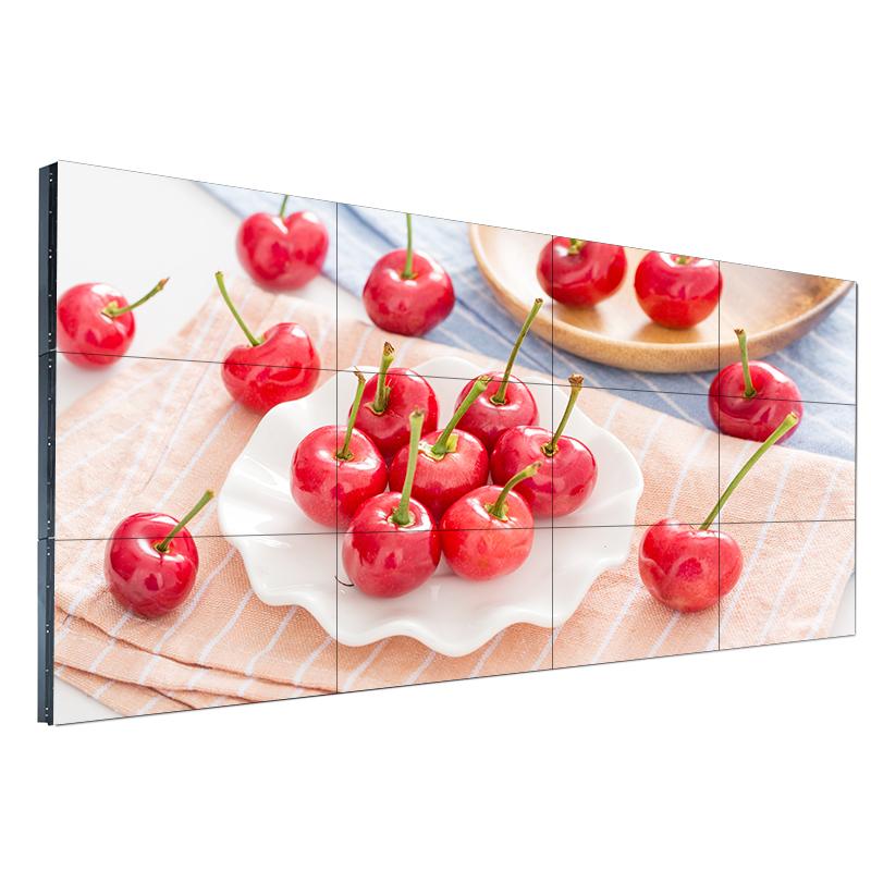 三星55寸高清led液晶拼接屏拼缝3.5mm安防监控电视墙无缝显示屏