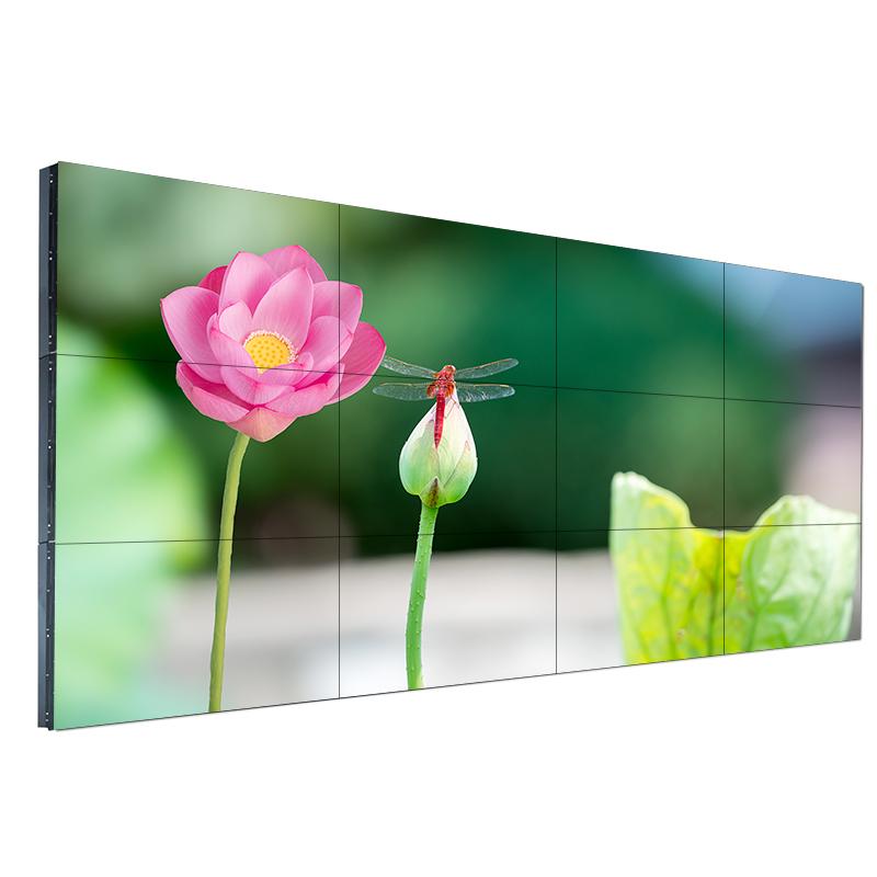 三星55寸液晶拼接屏led监控显示屏高清超窄边无缝拼接屏幕电视墙
