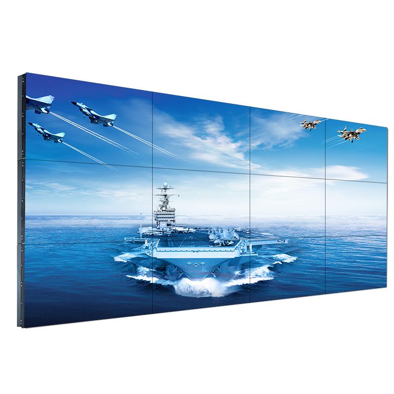46寸液晶拼接屏监控显示器电视墙无缝led大屏幕 商用会议