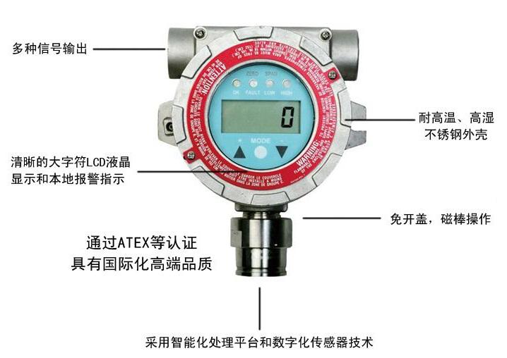 美国华瑞FGM-1100S固定式可燃性气体检测仪