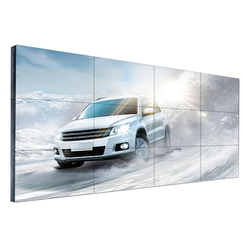 49寸高清液晶拼接屏电视墙单边8MM超窄边拼接单元高清大屏显示器