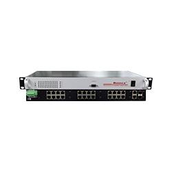 MIER-1226 24FE+2GSFP机架式千兆非网管工业以太网交换机