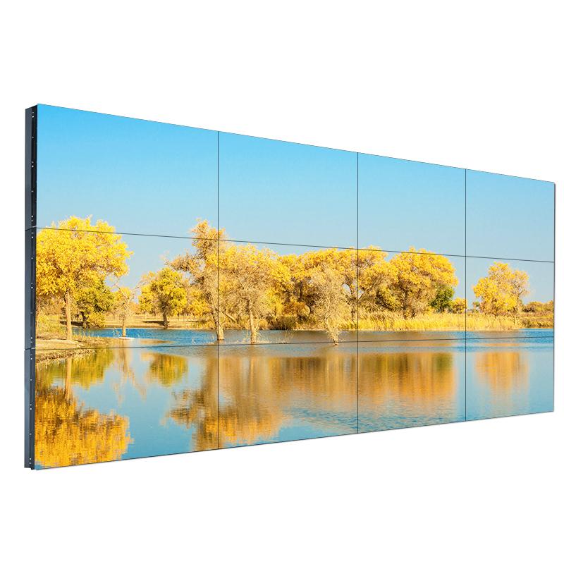 46寸3.5mm拼接屏液晶监控LED显示器工业会议电视墙高清大屏