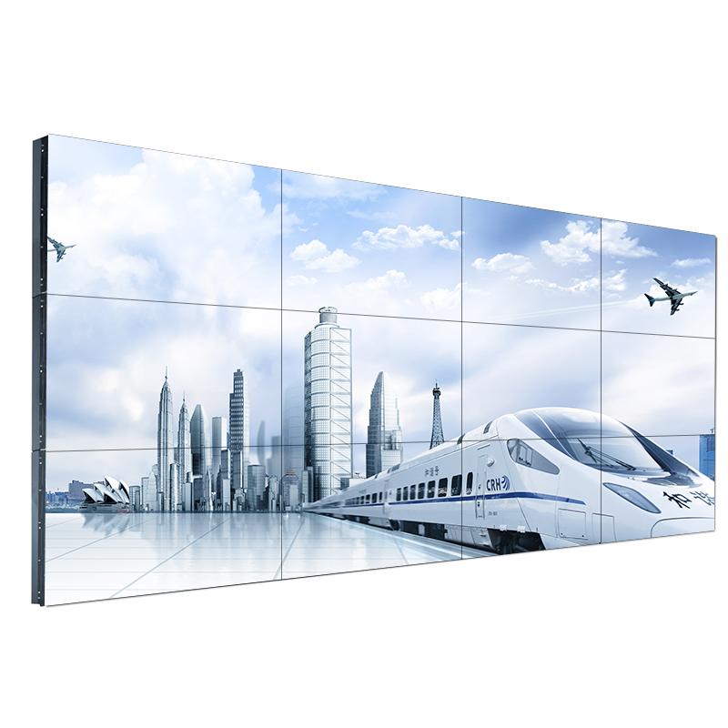 46寸1.8mm拼接屏液晶监控LED显示器工业会议电视墙高清大屏
