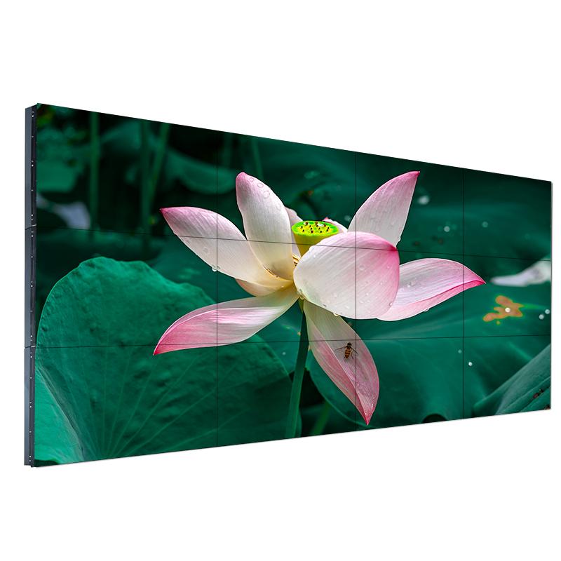49寸3.5mm拼接屏液晶监控LED显示器工业会议电视墙高清大屏